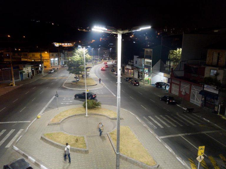 Barueri trocou 5800 luminárias em 2019
