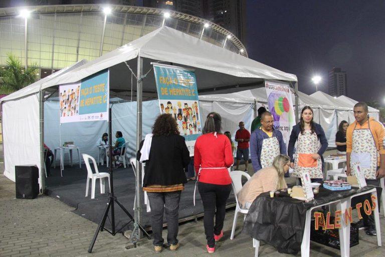 Barueri terá testes de HIV e Sífilis na Feira Noturna e perto da Estação Antônio João